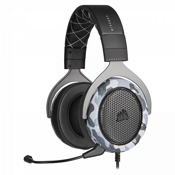 Игровая гарнитура Corsair HS60 Haptic дополняет низкочастотные звуки тактильным воздействием