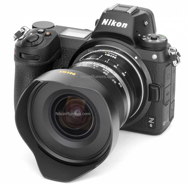 Появилось первое изображение первого объектива NiSi с креплением Nikon Z