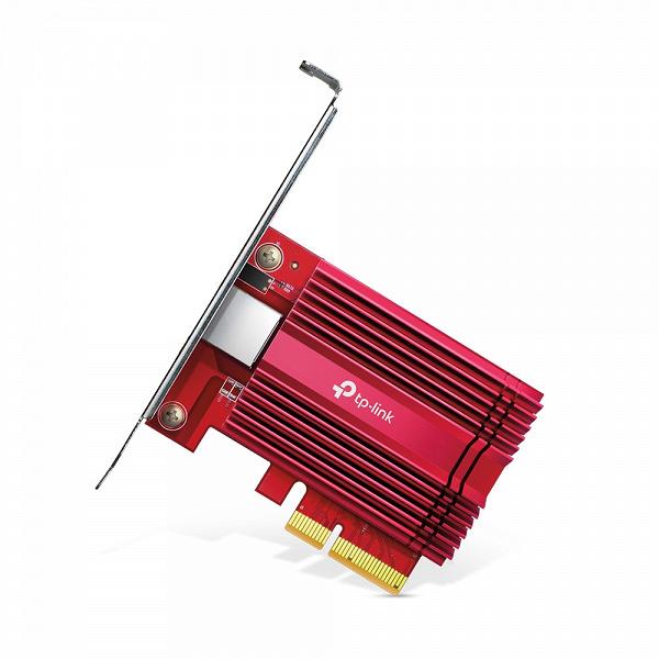 Начались продажи адаптеров 10GbE TP-Link TX401