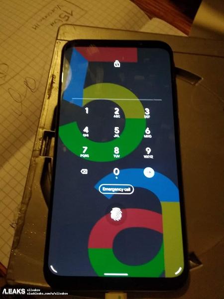Потенциальный Google Pixel 5a на фото в рабочем состоянии
