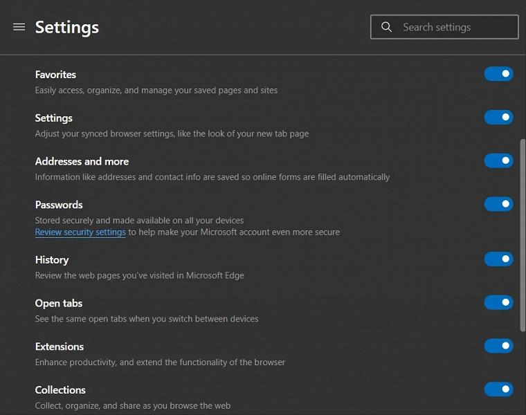 Радость у пользователей Microsoft Edge. Спустя долгие месяцы ожидания появилась синхронизация истории и вкладок