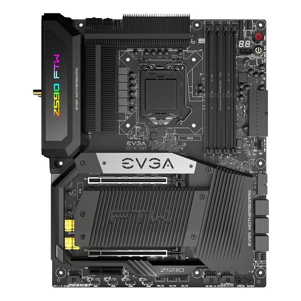 Представлены системные платы EVGA Z590 Dark и FTW