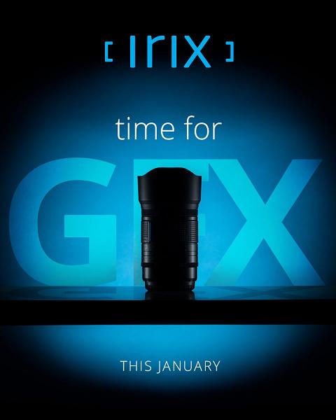 Irix скоро представит светосильный объектив системы Fujifilm GFX