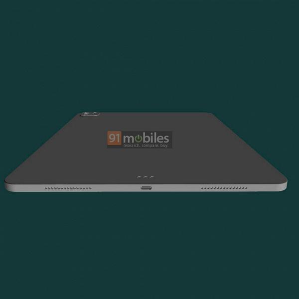 Новый iPad Pro со всех сторон: рендеры на основе чертежей