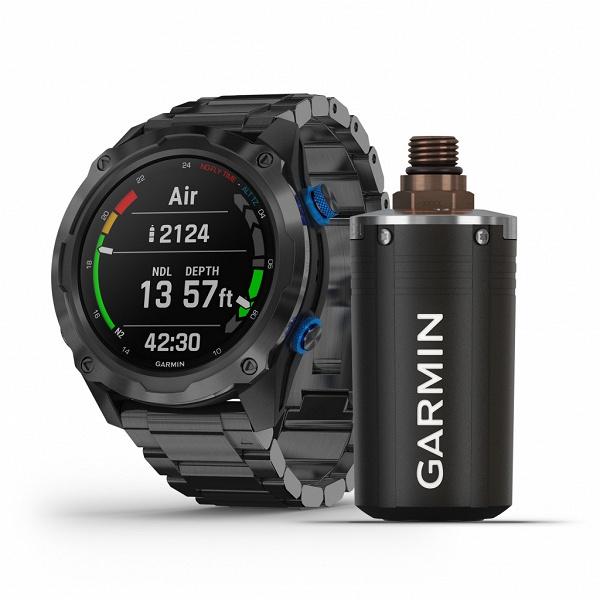 Garmin представила в России пару умных часов для любителей понырять