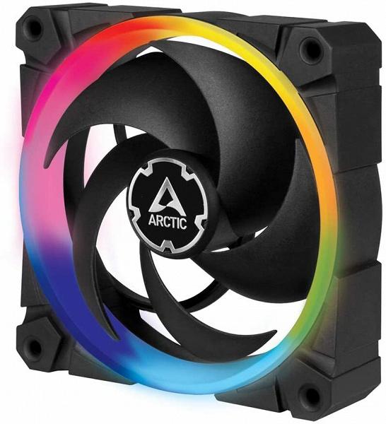 Вентиляторы Arctic BioniX P120 A-RGB доступны по одному и по три