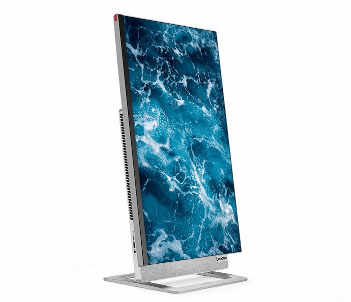 В моноблочном ПК Lenovo Yoga AIO 71 используется 27-дюймовый дисплей 4К, который может поворачиваться