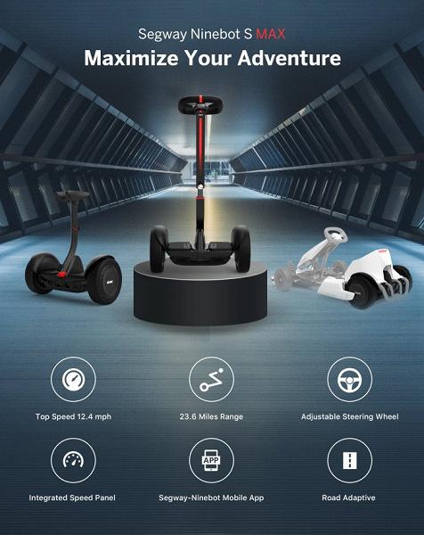 Представлен новейший гироскутер Ninebot S