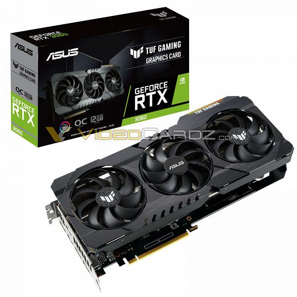 Недорогая видеокарта Nvidia с объёмом памяти больше, чем у RTX 3080. Появилось первое изображение GeForceRTX 3060