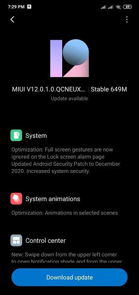 Xiaomi сделала рождественский подарок российским пользователям Redmi 8. Состоялся релиз MIUI 12