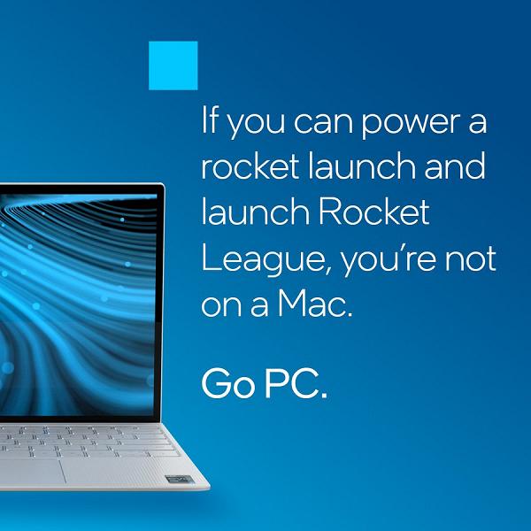 Новая реклама Intel нацелена не против AMD, а против Apple. И её новых компьютеров Mac