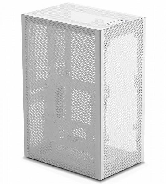 Три панели корпуса SSUPD Meshlicious изготовлены из сетки, одна — из стекла