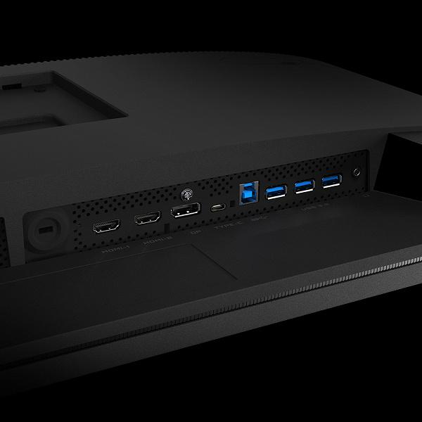 В игровой монитор Gigabyte M32Q встроен KVM-переключатель