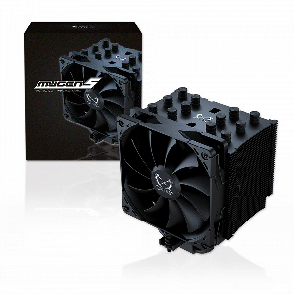 Представлена система охлаждения Scythe Mugen 5 Black Edition