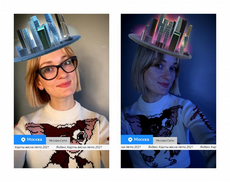 Яндекс.Карты запустили виртуальную коллекцию архитектурных шляп
