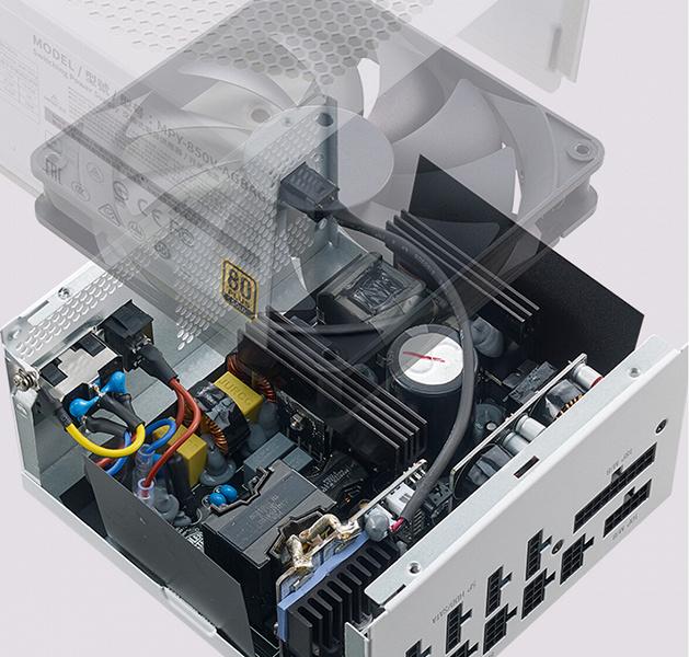 Блок питания Cooler Master V850 Gold V2 White Edition привлечёт тех, кто собирает ПК из компонентов белого цвета