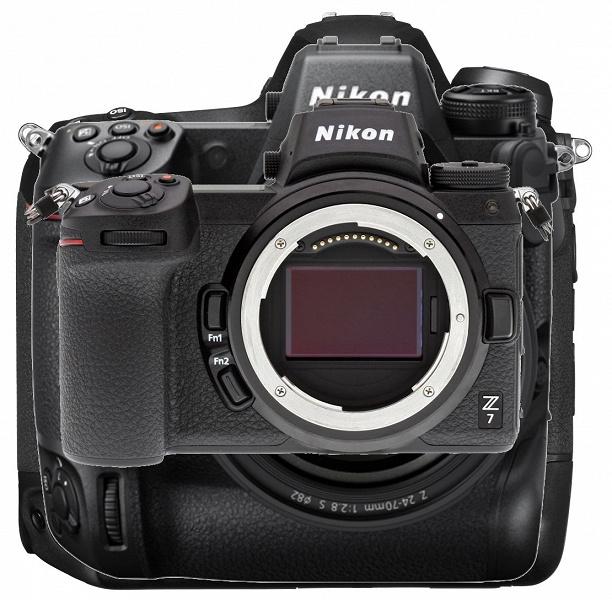 Nikon Z9 сравнили с другими камерами Nikon