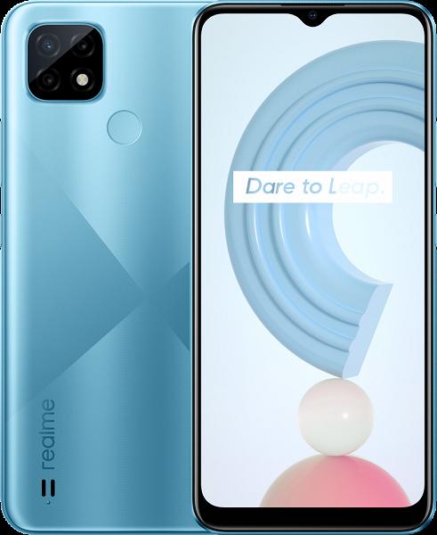 Представлен монстр автономности за 100 евро: встречаем Realme C21