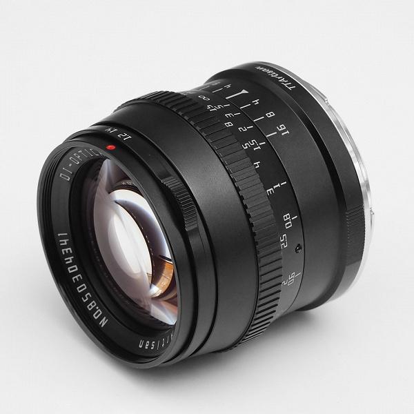 Объектив TTartisan 50mm f/1.2 стал доступен в вариантах с креплениями Nikon Z и Leica L