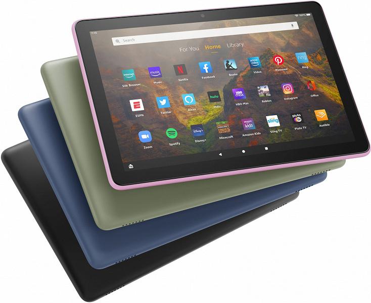 Представлены планшеты Amazon Fire HD 10 и Fire HD 10 Plus