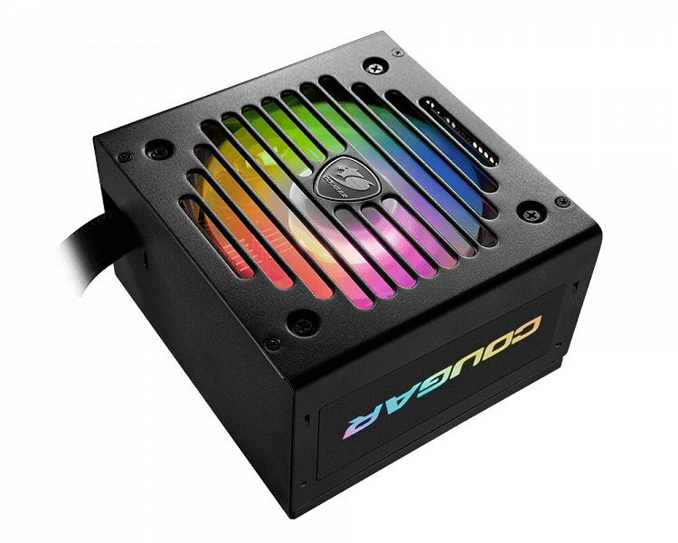 Серия блоков питания Cougar VTE X2 ARGB включает модели мощностью 550 Вт, 650 Вт и 750 Вт