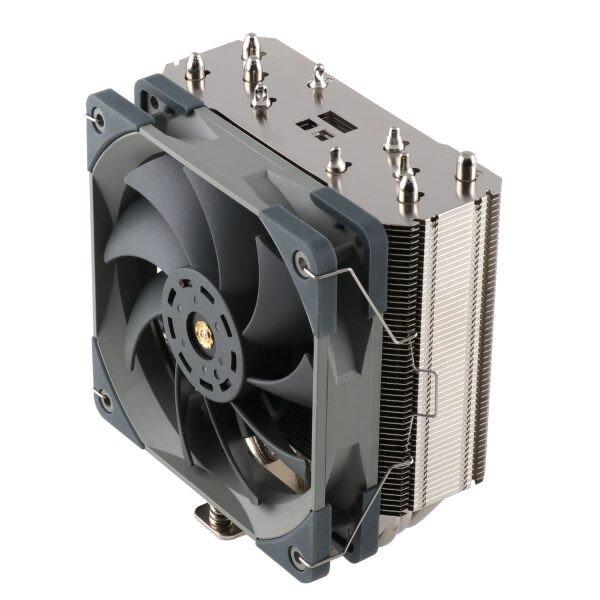 Процессорная система охлаждения Thermalright TA 120 EX построена по классической схеме
