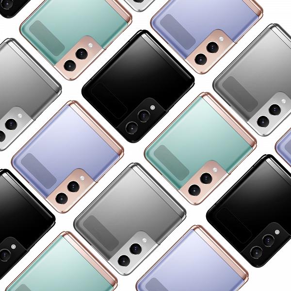 Камера как у Samsung Galaxy S21, рамка Armor Frame и разные цвета. Новое изображение Samsung Galaxy Z Flip3