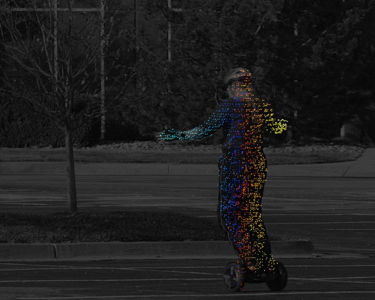 У Insight LiDAR готов первый в отрасли лидар для самоуправляемых транспортных средств, способный распознавать движения человеческого тела