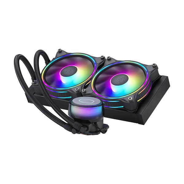 Система жидкостного охлаждения Cooler Master MasterLiquid ML240 Illusion White Edition может заинтересовать тех, кто собирает ПК из компонентов белого цвета