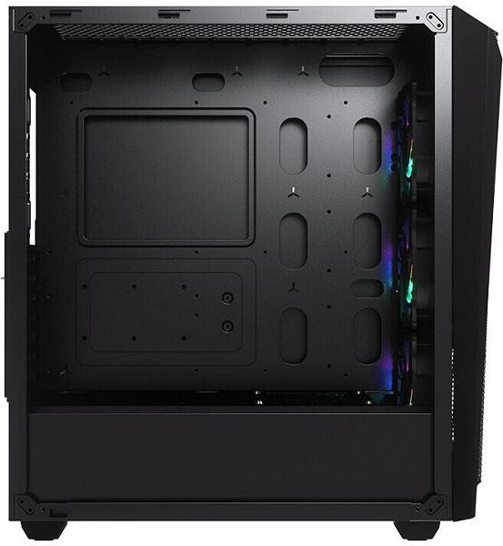 Особенностью корпуса Cougar MX660 Mesh RGB-L является объемная передняя панель из сетки