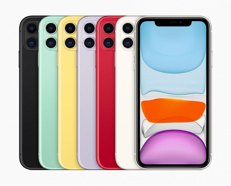 iPhone 11 остаётся самым продаваемым смартфоном Apple