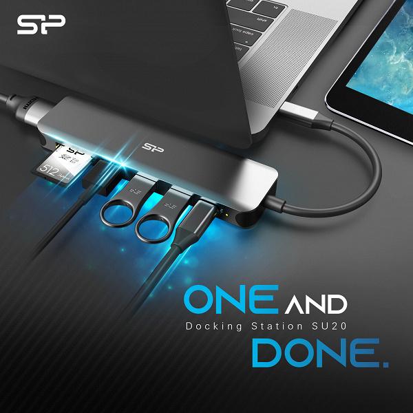 Ассортимент Silicon Power пополнила док-станция SU20