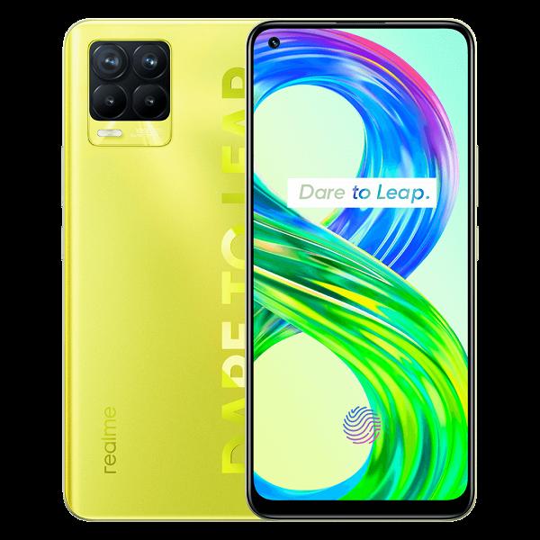 Представлен светящийся смартфон Realme 8 Pro