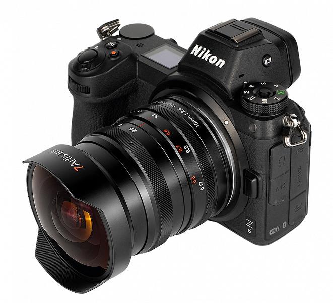 Полнокадровый объектив 7Artisans 10mm f/2.8 уже можно купить