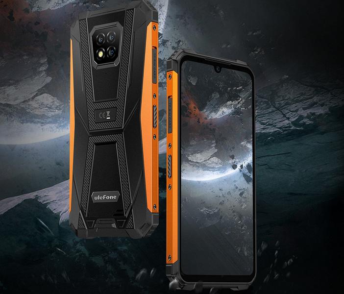 Неубиваемый смартфон с NFC и IP69K Ulefone Armor 8 Pro подешевел до рекордной отметки