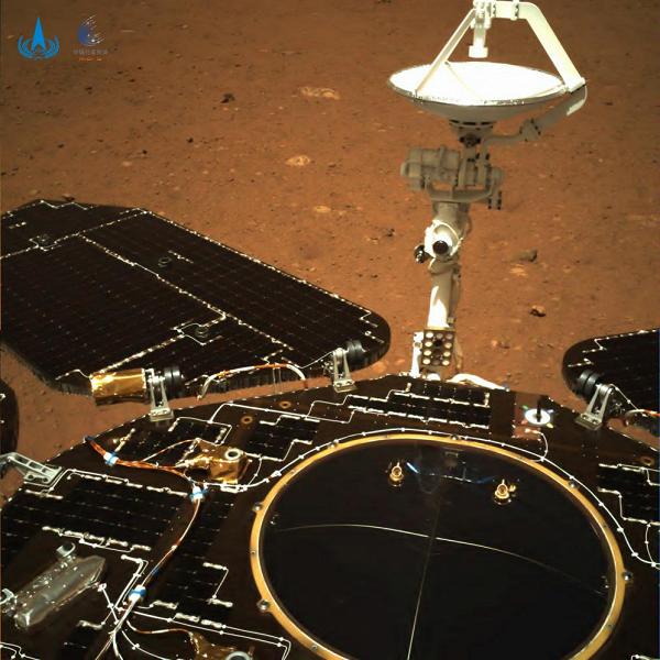 Китай опубликовал первые фото и видео с Марса