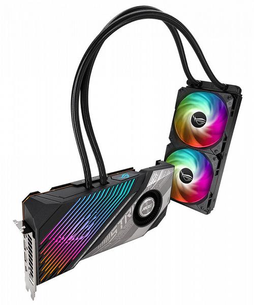 Основой видеокарты Asus ROG Strix LC Radeon RX 6900 XT TOP T16G служит GPU Navi 21 XTXH