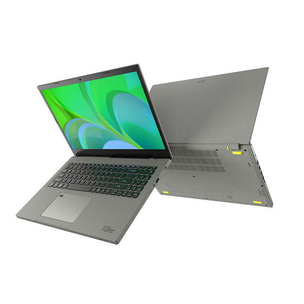 Ноутбук из переработанного пластика. Представлен Acer Aspire Vero