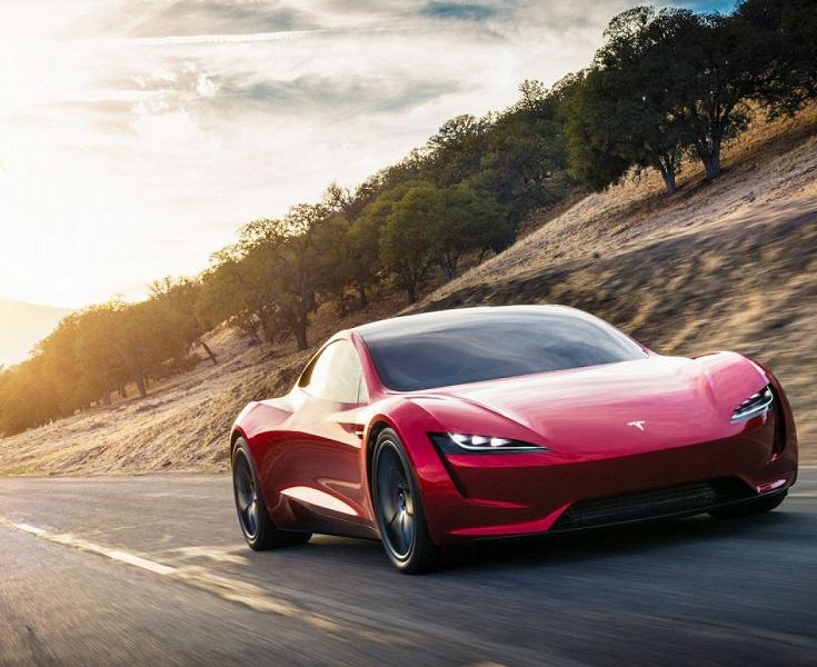 Быстрее болидов Formula 1. Tesla Roadster 2 с пакетом SpaceX будет разгоняться до 100 км/ч за 1,1 с