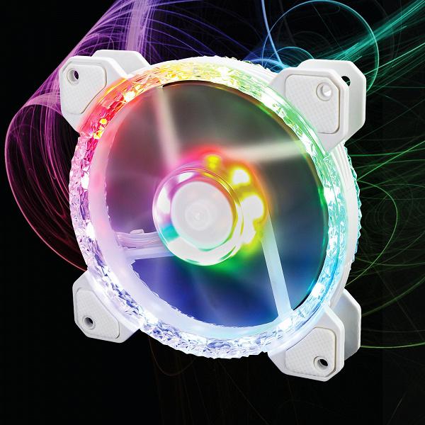 Вентилятор Gelid Stella Frost украшен «ледяной» рамкой и 24 светодиодами ARGB