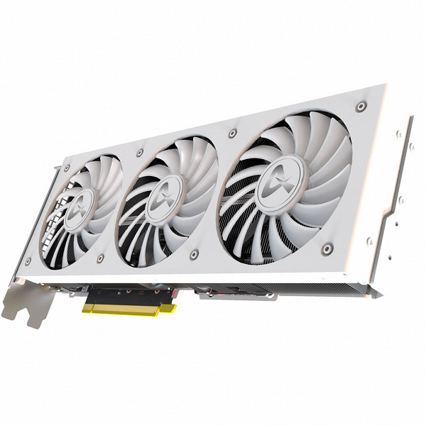 Система охлаждения видеокарты AXGaming GeForce RTX 3080 Ti X3W называется Punk Pro MAX