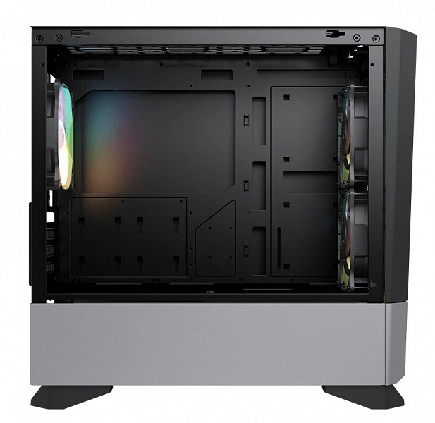 Корпус Cougar MG140 Air RGB комплектуется двумя 140-миллиметровыми вентиляторами и одним 120-миллиметровым