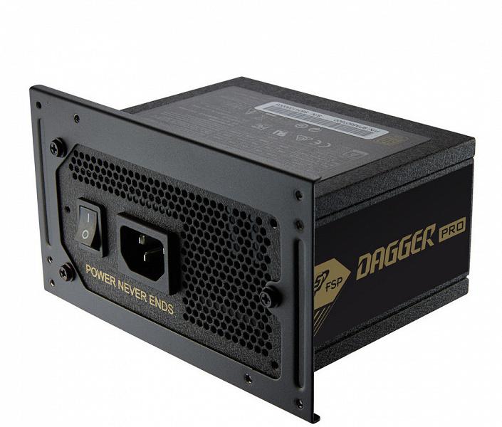 Серия блоков питания FSP Dagger Pro типоразмера SFX включает модели мощностью 750 и 850 Вт