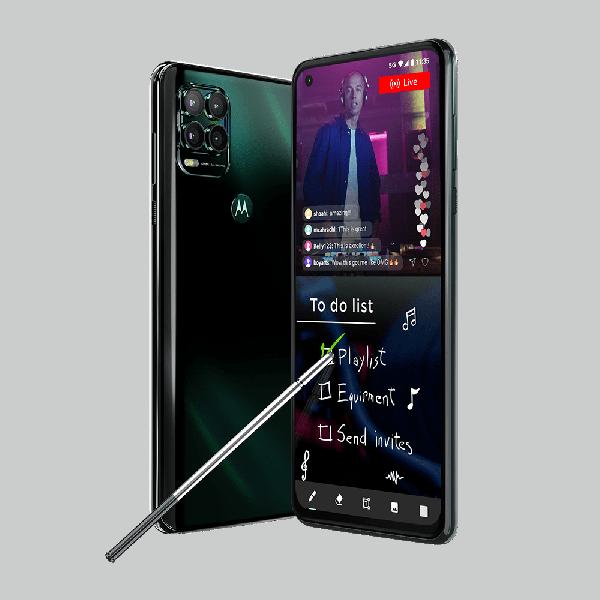 Motorola представила недорогой смартфон со стилусом, внушительными экраном и аккумулятором