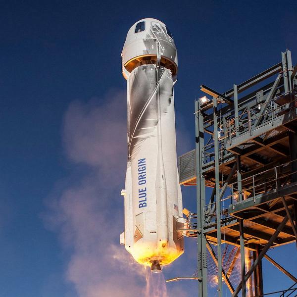 Слетать с самым богатым человеком на Земле в космос за 28 млн долларов. На аукционе было продано место в корабле NewShepard