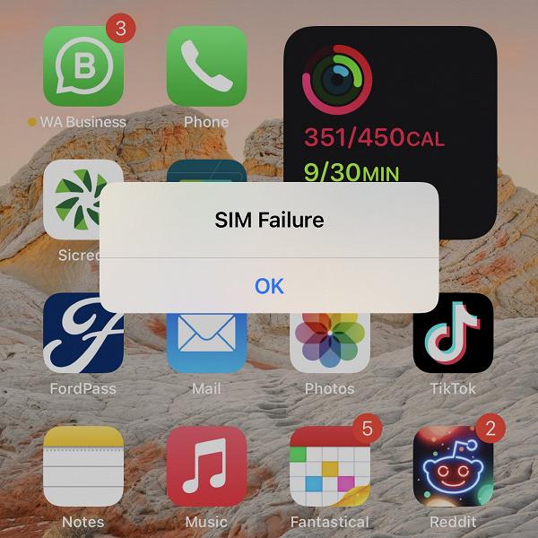 Новейшая бета-версия iOS 14.7 отключает SIM-карту iPhone