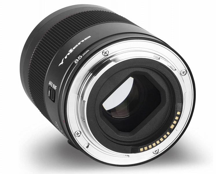 Объектив Yongnuo YN 85mm F1.8R DF DSM предназначен для камер Canon EOS R