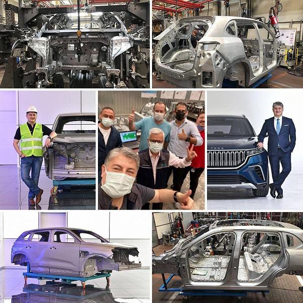 Представлен первый турецкий электромобиль с разгоном от 0 до 100 км/ч за 4,8 с