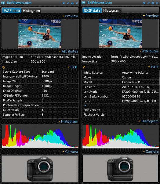 Разрешение камеры Canon EOS R3 оказалось ниже, чем ожидалось