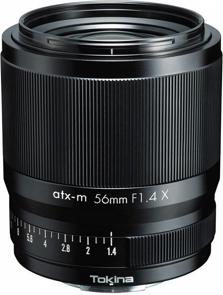 Анонсированы продажи объектива Tokina atx-m 56mm F1.4 X